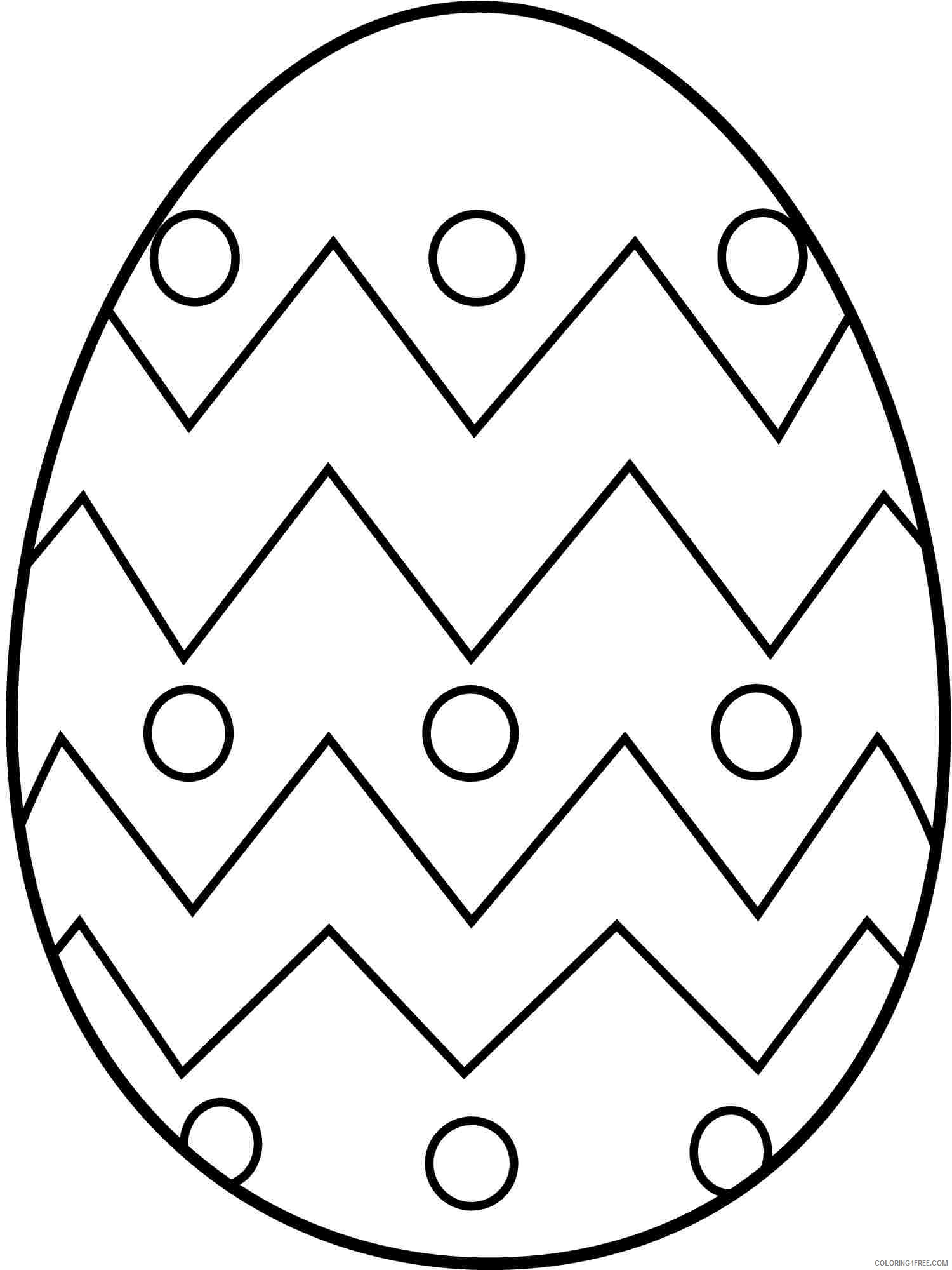 easy easter egg coloring pages Coloring18free   Coloring18Free.com