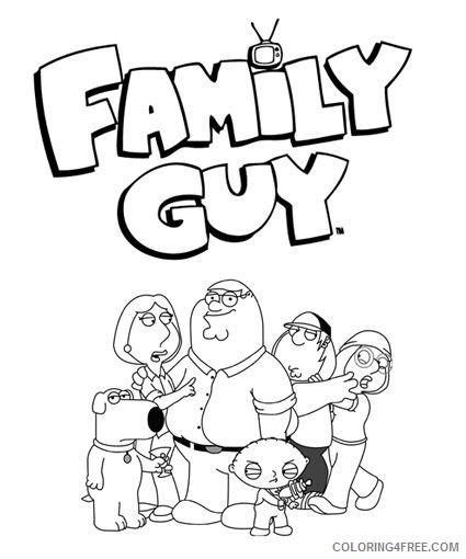 Quagmire- Family Guy Coloring Page - Super Fun Coloring | 510x425