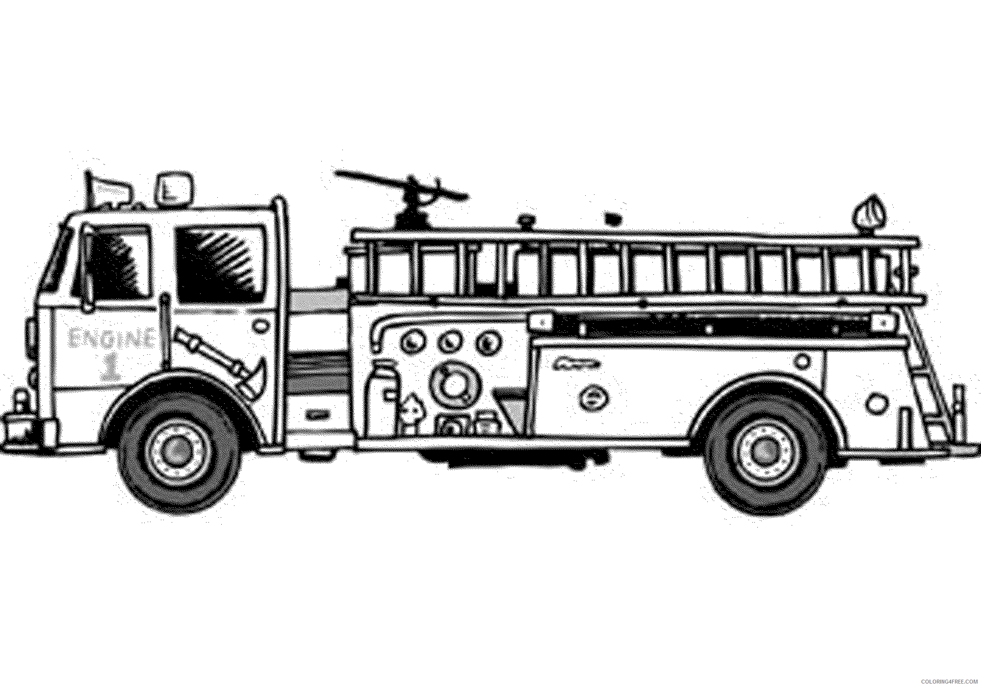 Firefighter Coloring Pages - Free Printables - MomJunction | 1400x2000