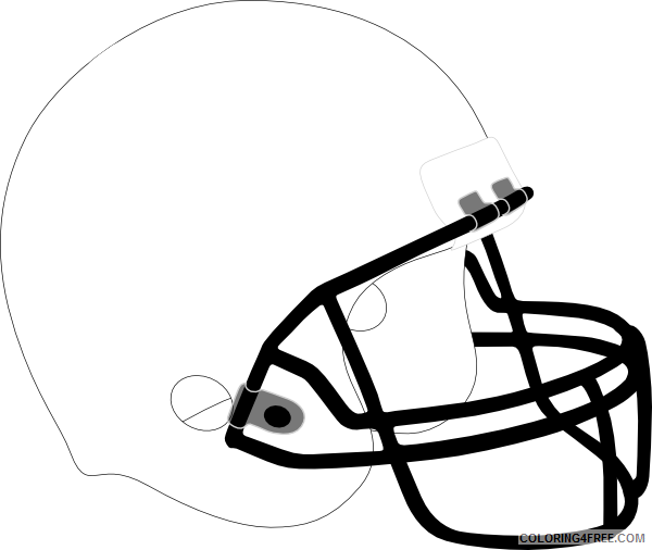 print football football helmet coloring pages printable coloring ... | 506x600