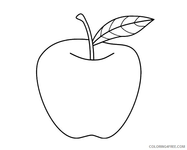 Free Printable Apple Coloring Pages For Kids | 480x600