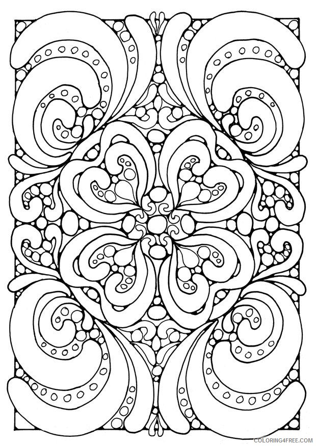 Free Coloring Pages For Teens Coloring4free - Coloring4Free.com