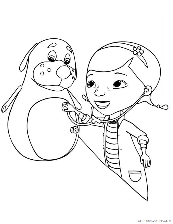 Free Doc Mcstuffins Coloring Pages For Kids Coloring4free Coloring4free Com