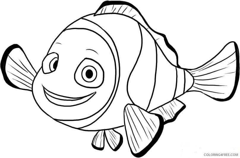 - Free Finding Nemo Coloring Pages For Kids Coloring4free - Coloring4Free.com
