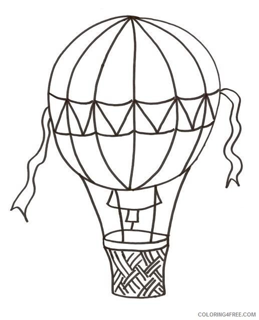 - Free Hot Air Balloon Coloring Pages For Kids Coloring4free -  Coloring4Free.com