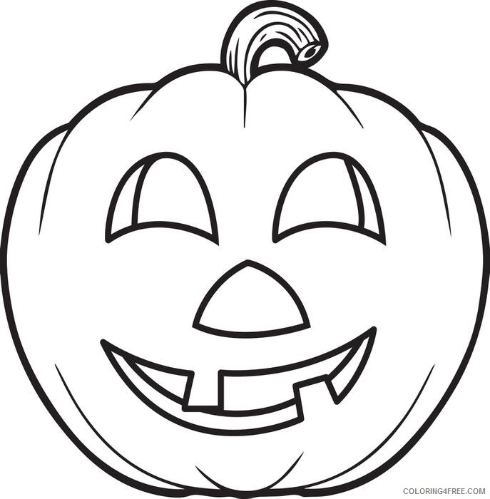 Free Pumpkin Coloring Pages For Kids Coloring4free - Coloring4Free.com
