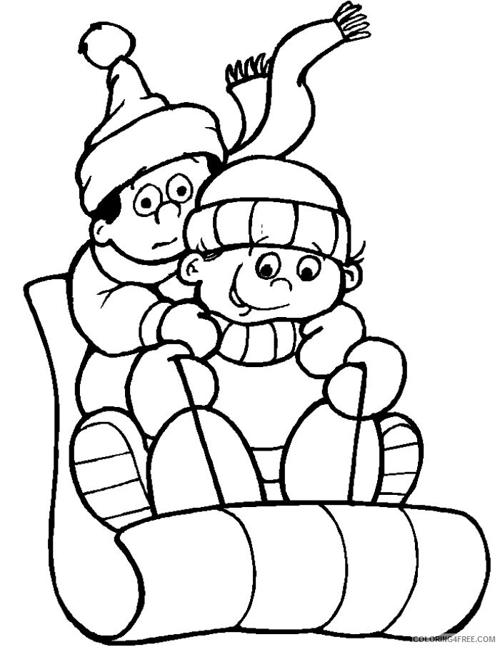 - Free Winter Coloring Pages For Kids Coloring4free - Coloring4Free.com