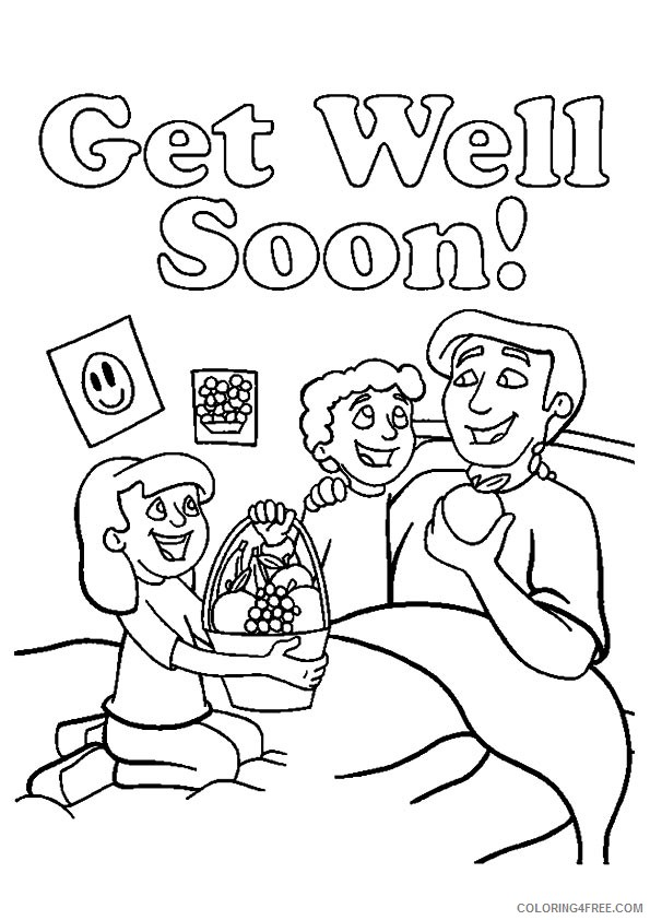 Get Well Soon Daddy Coloring Pages Coloring4free Coloring4free Com