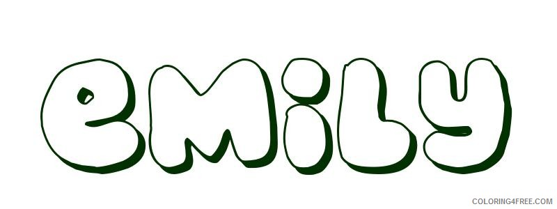 name coloring pages kaylee Coloring4free Coloring4Free com