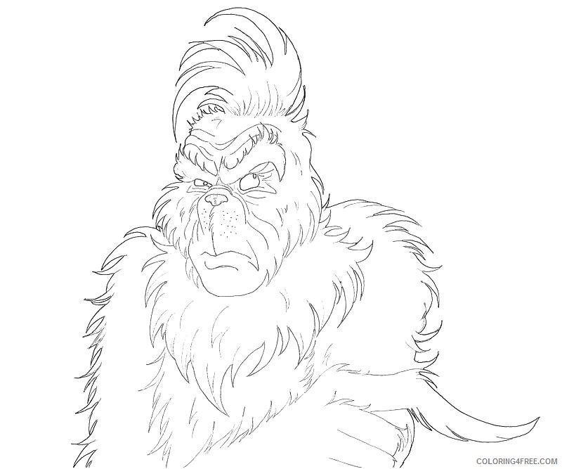 grinch coloring pages max the dog Coloring4free ...
