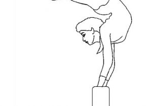 Coloring page gymnastics | Sport - Free coloring pages | 210x296