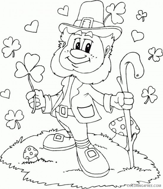 - Happy St Patricks Day Coloring Pages Printable Free Coloring4free -  Coloring4Free.com