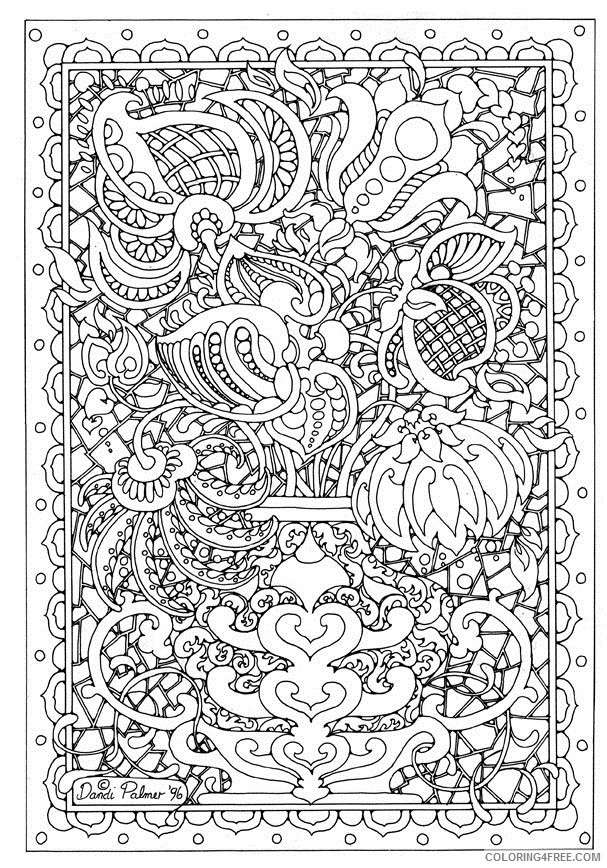 6 Best Images of Adult Printable Art Coloring Pages - Printable ... | 868x607