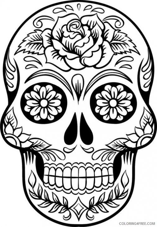 Sugar Skulls Coloring Book by Thaneeya McArdle — Thaneeya.com | 730x505