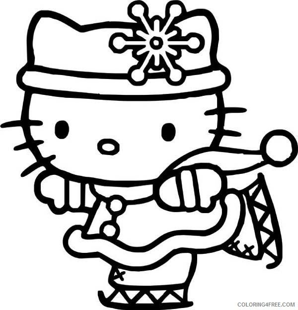 Hello Kitty Coloring Pages Cartoons Hello Kitty Online Printable 2020 3275 Coloring4free Coloring4free Com