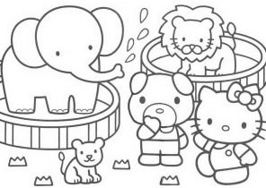Hello Kitty Coloring Pages - Page 2 of 4 - Coloring4Free.com