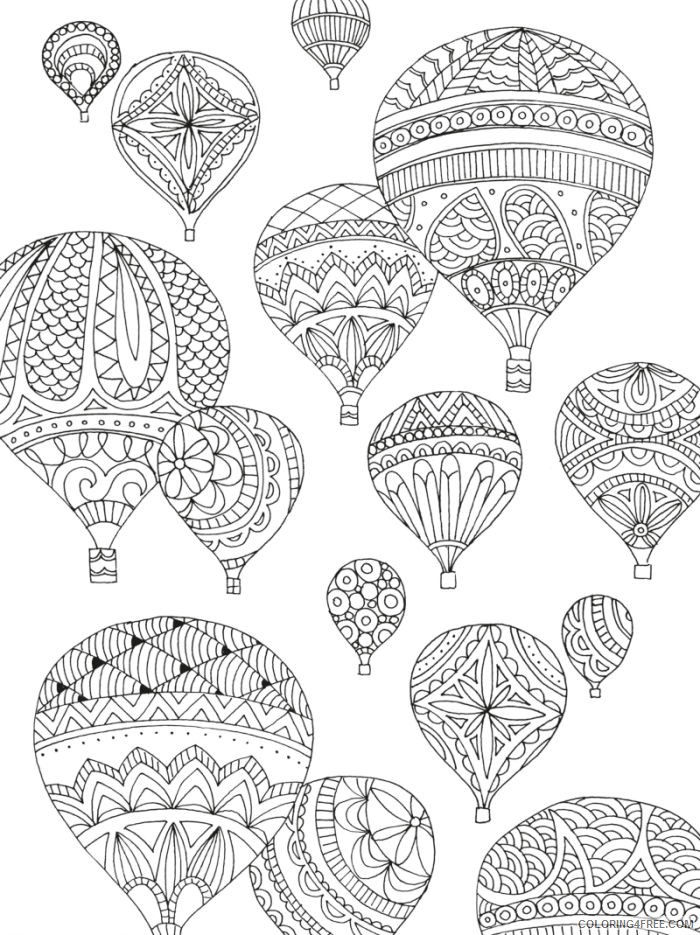 printable balloon coloring pages 2609914 | Coloring pages, Cute ... | 935x700