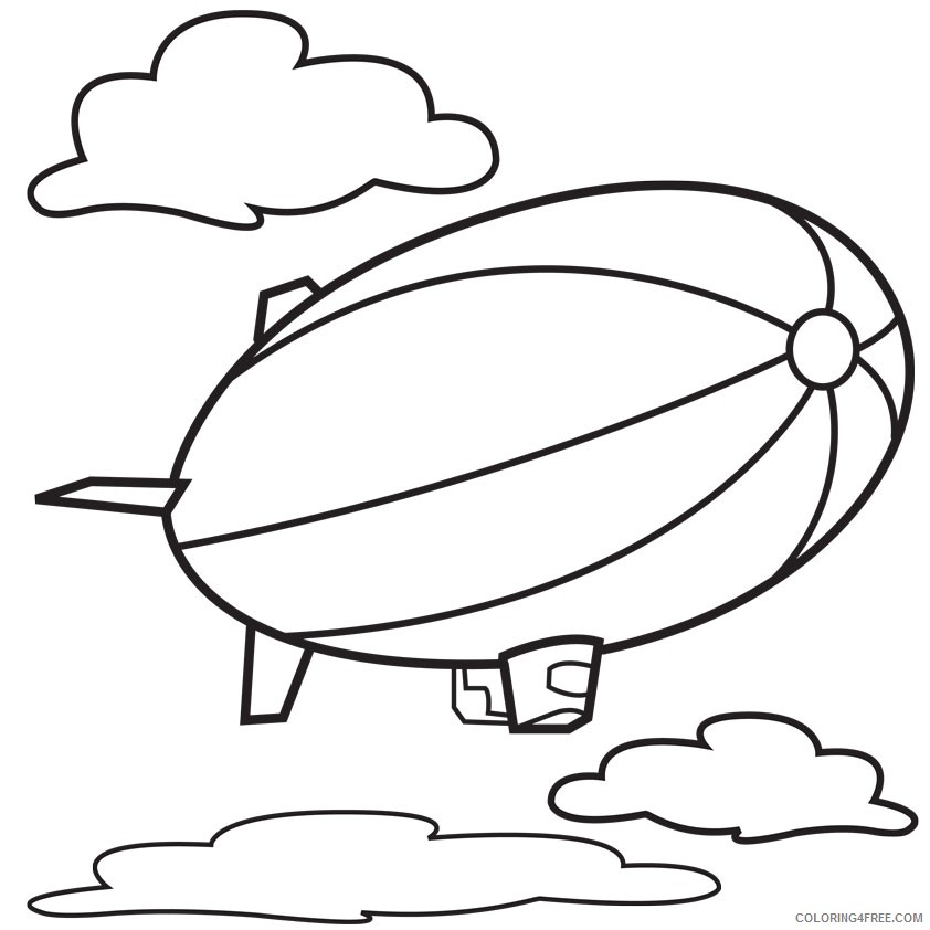 It is an image of Hot Air Balloon Coloring Pages Free Printable pertaining to coloring sheet