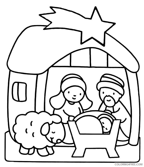 - Jesus Coloring Pages For Kindergarten Coloring4free - Coloring4Free.com