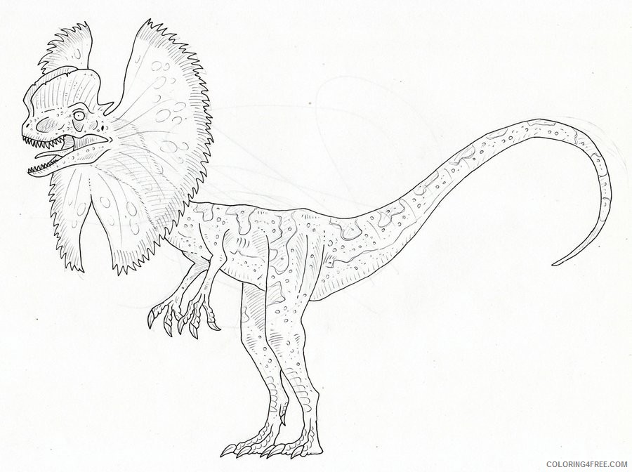 Jurassic World Coloring Pages - Best Coloring Pages For Kids | 672x900