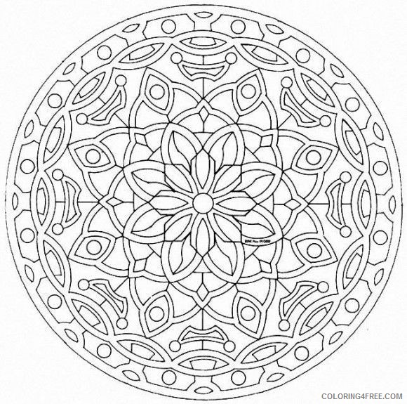 Kaleidoscope Coloring Pages   Coloring pages to print, Pattern ...   575x580