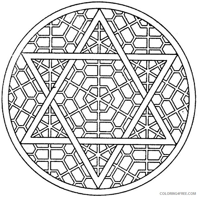 Kaleidoscope coloring pages | Free Coloring Pages | 628x630