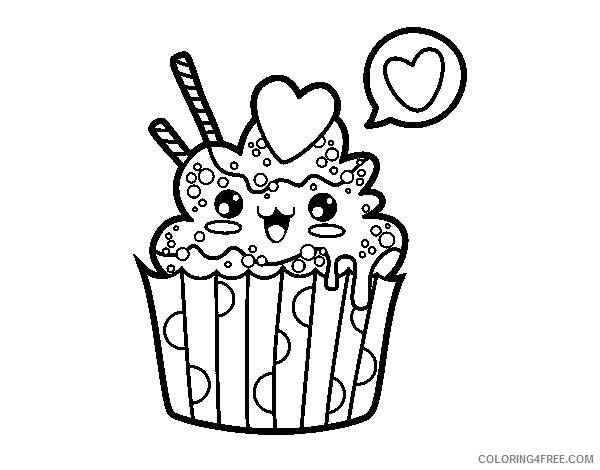 Cupcake coloring page | Free Printable Coloring Pages | 470x600
