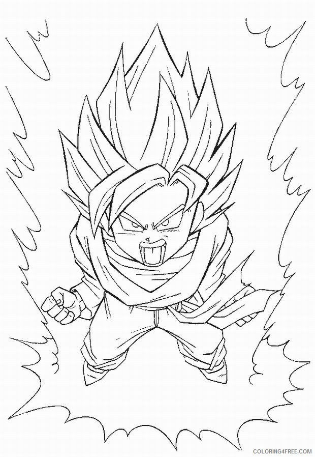 Free Printable Dragon Ball Z Coloring Pages For Kids | 898x620
