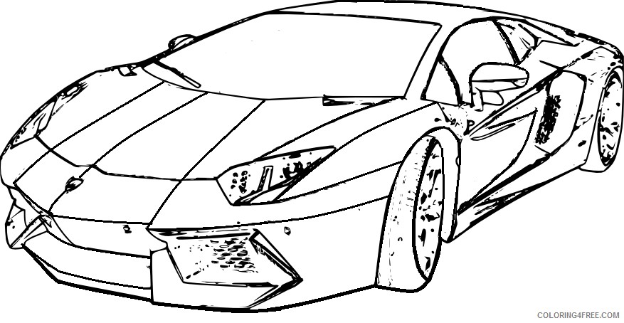 lambhini huracan coloring pages