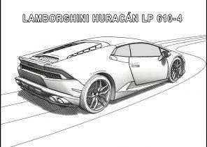 Lamborghini Coloring Pages - Coloring4Free.com