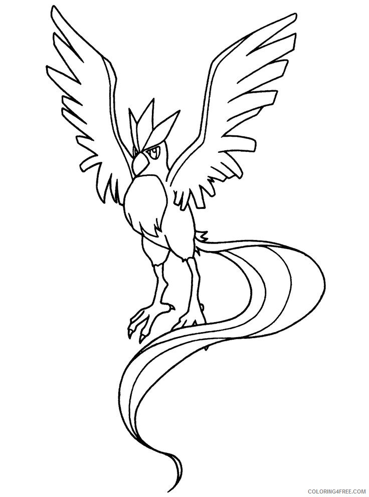 Pokemon Go #139 (Video Games) – Printable coloring pages | 992x736