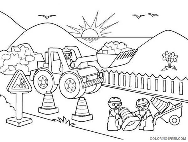 Free Construction Coloring Pages Free Printables, Download Free ... | 454x600