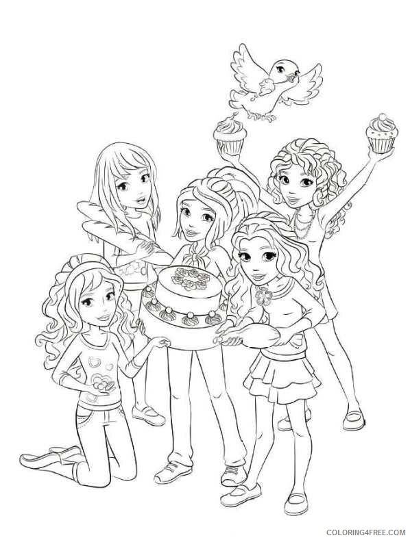 - Lego Friends Coloring Pages For Girls Coloring4free - Coloring4Free.com
