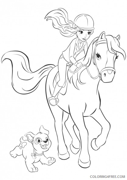 - Lego Friends Coloring Pages Printable Coloring4free - Coloring4Free.com