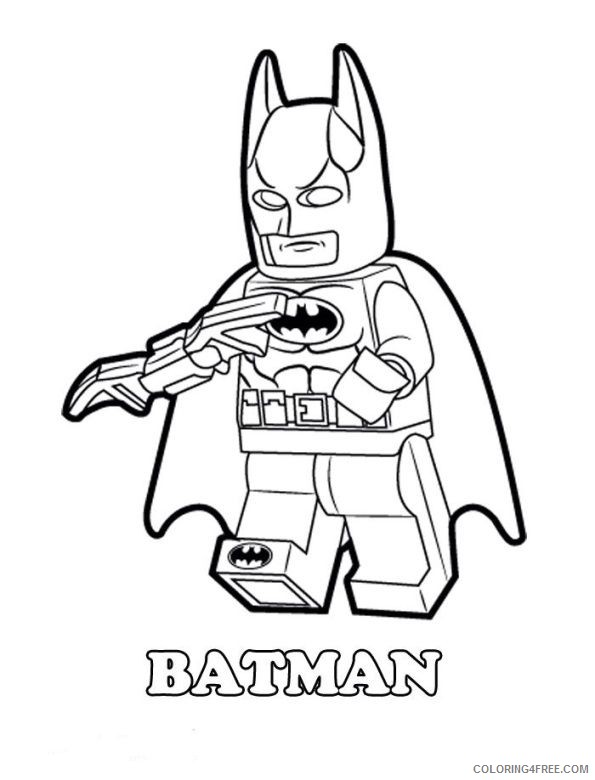 Lego Movie Coloring Pages Batman Coloring4free Coloring4free Com