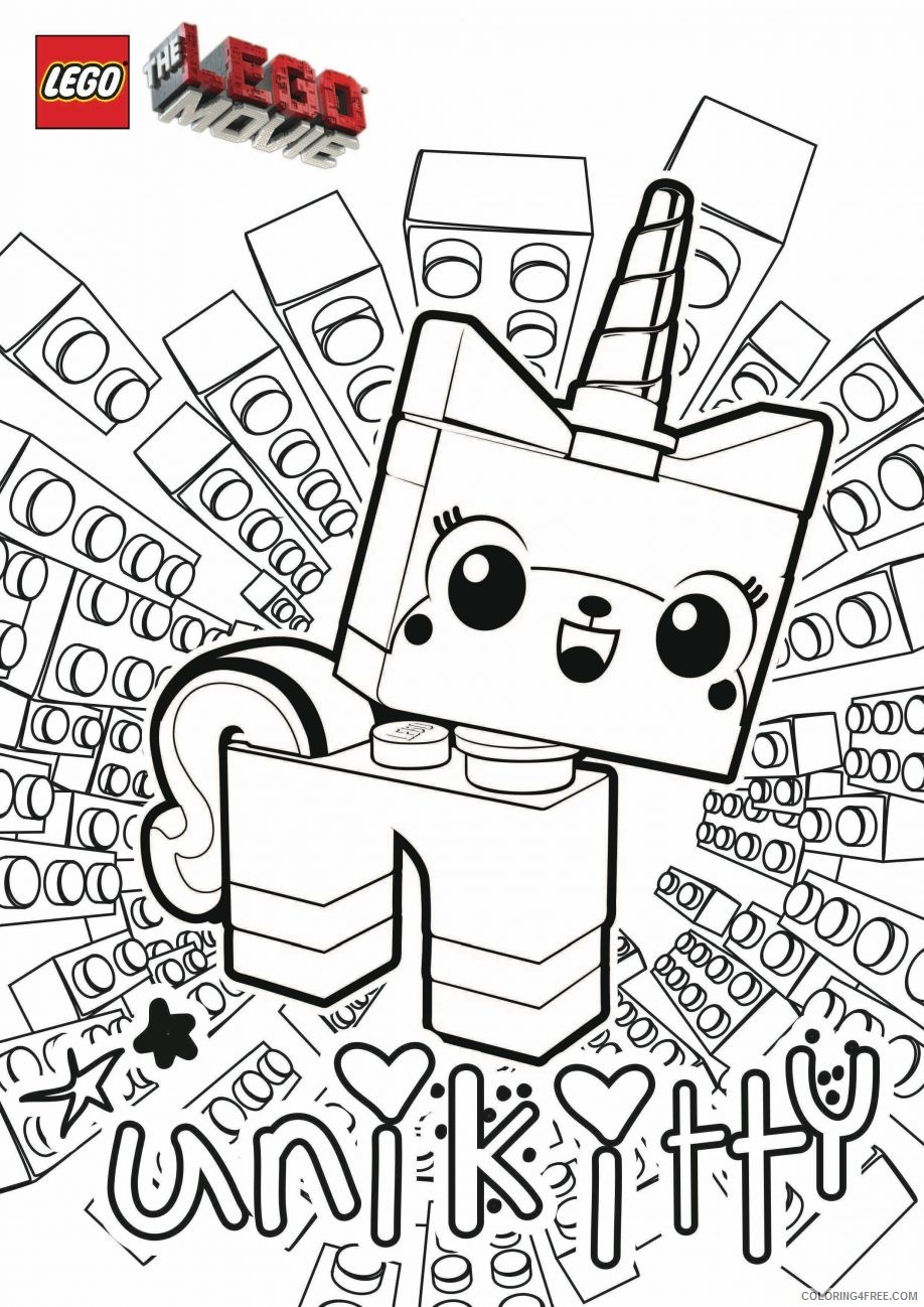 Lego Movie Coloring Pages Emmet Coloring4free Coloring4free Com