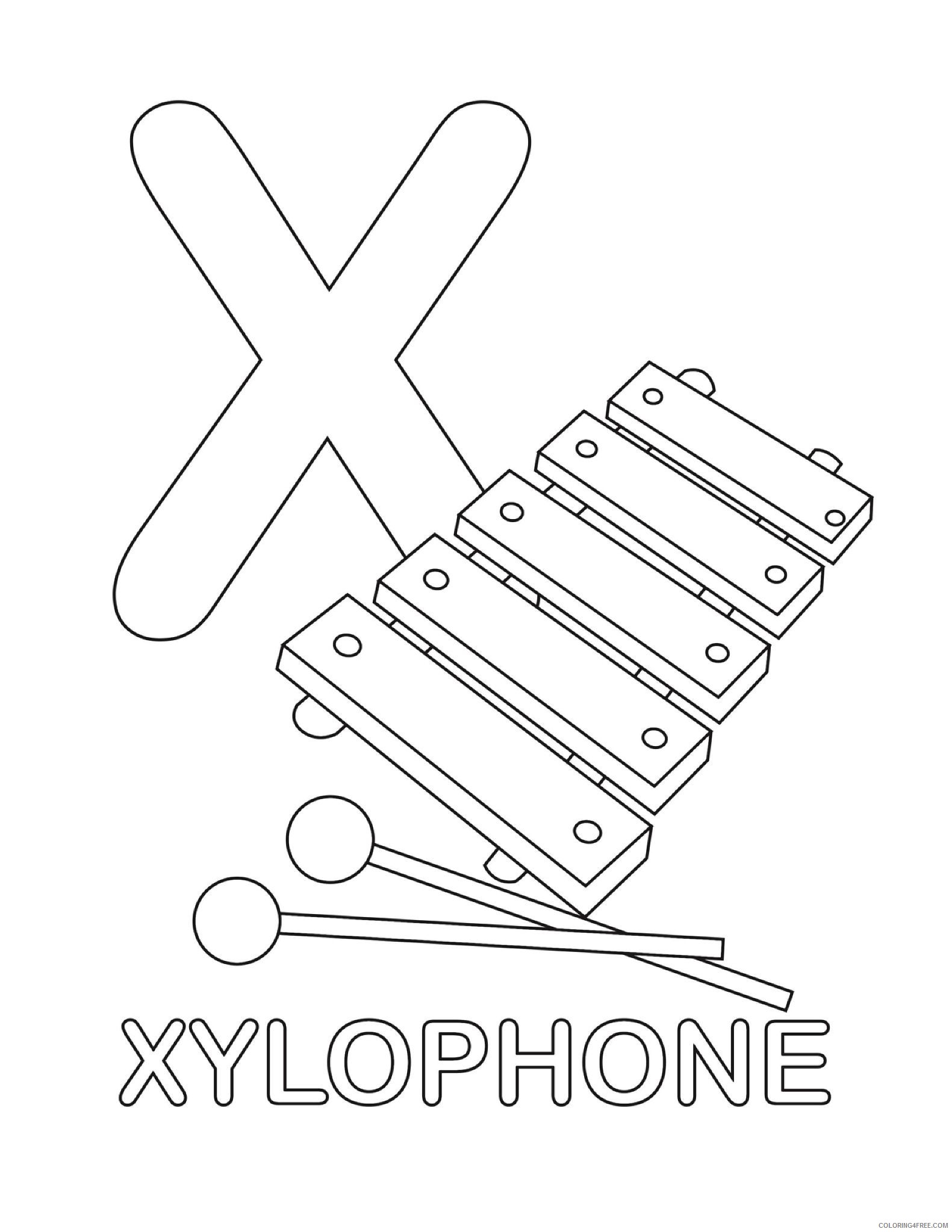 Xylophone coloring page | Free Printable Coloring Pages | 2046x1581