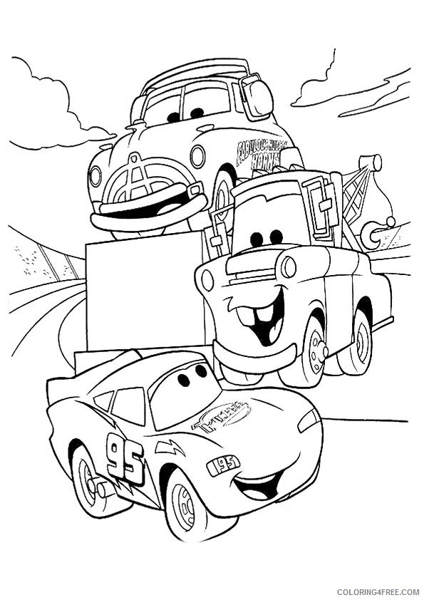 Mcqueen car coloring pages in 2020 | Malvorlagen für kinder ... | 842x595