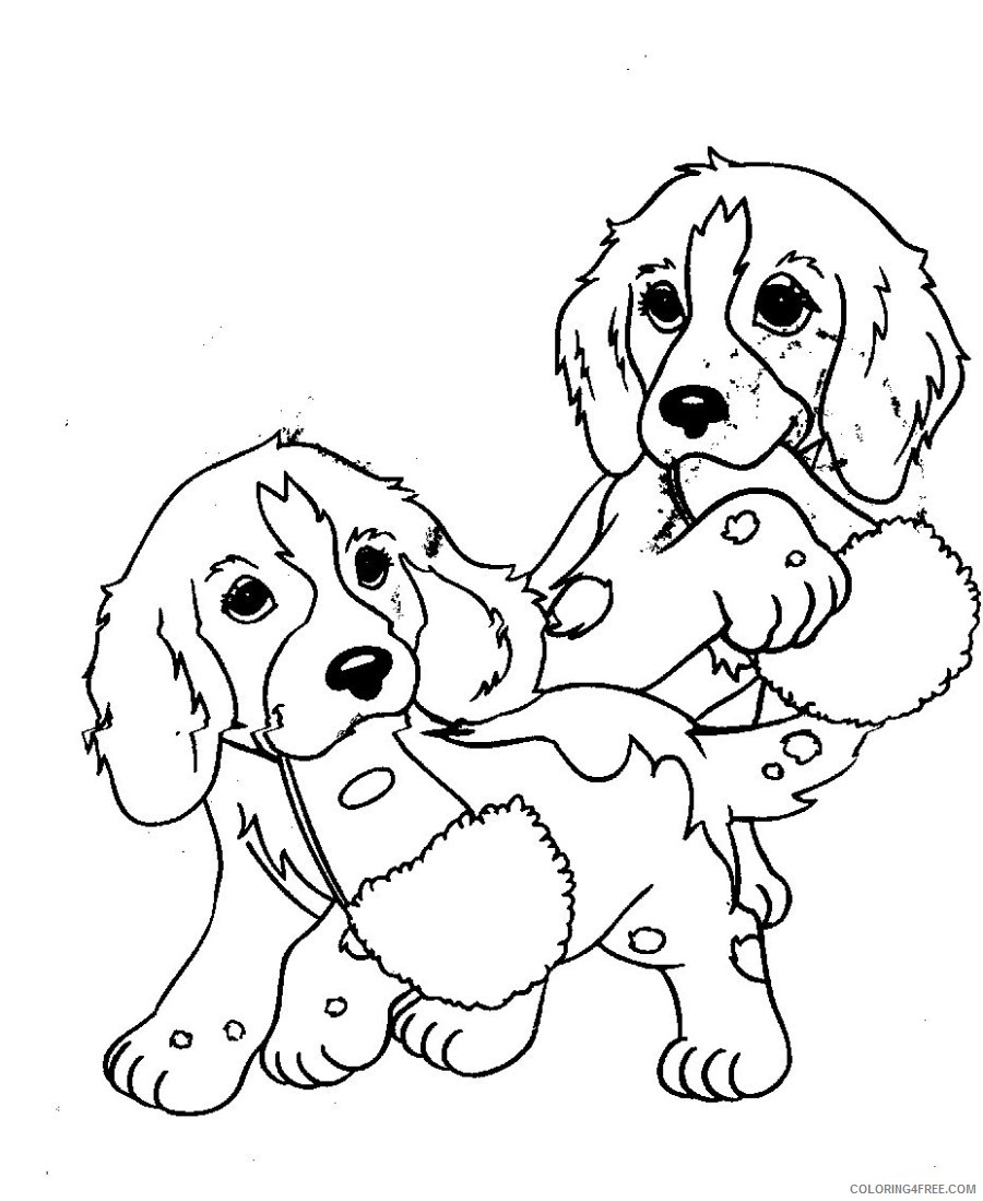 - Lisa Frank Coloring Pages Of Puppies Coloring4free - Coloring4Free.com