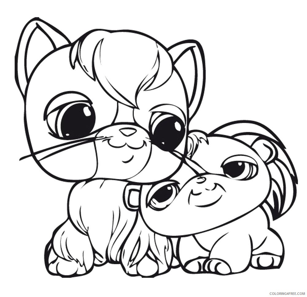 Lps Collie Coloring Pages , Free Transparent Clipart - ClipartKey | 969x1000