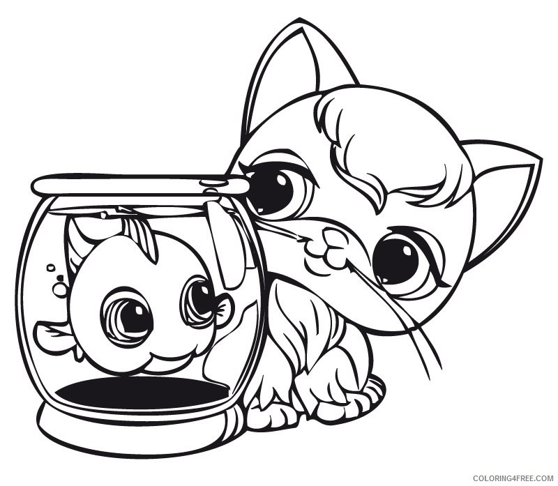 Littlest Pet Shop Free Coloring Pages - Coloring Home | 697x800