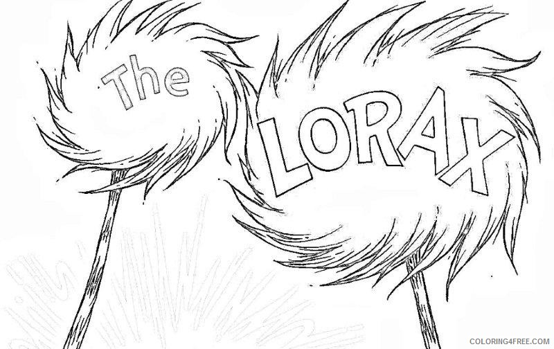 Lorax Coloring Page - Coloring Home | 504x800