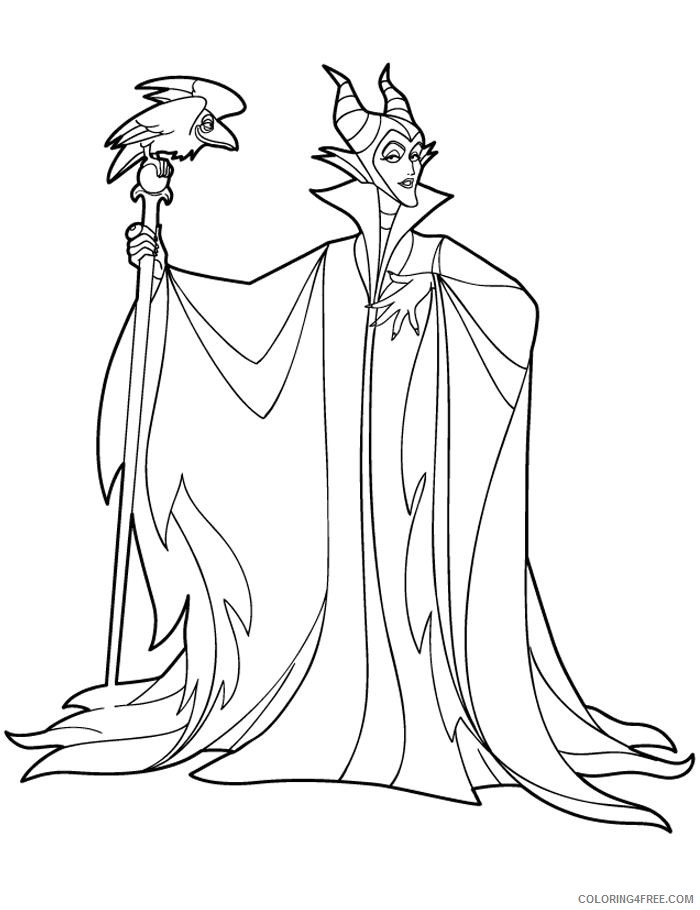 maleficent coloring pages to print coloring4free coloring4free com coloring4free com