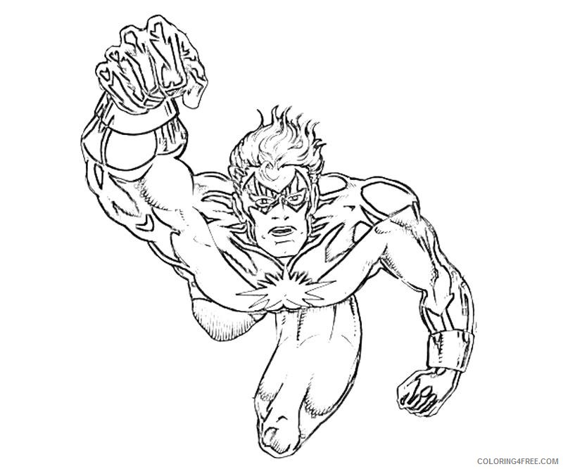 marvel coloring pages all heroes Coloring4free ...