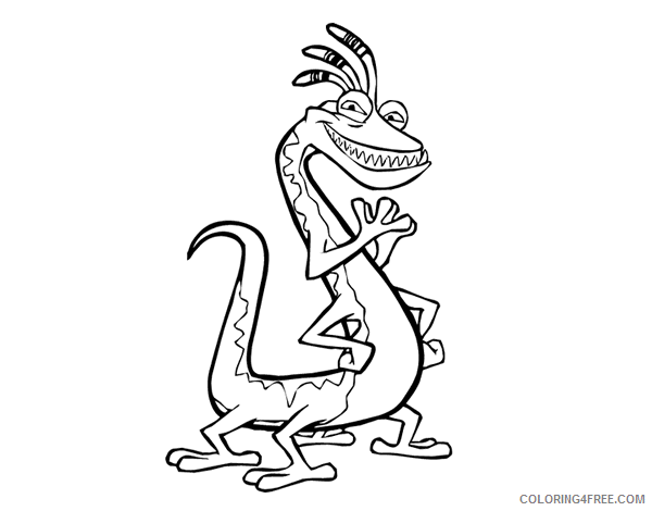 Monsters, inc. coloring pages on Coloring-Book.info | 470x600