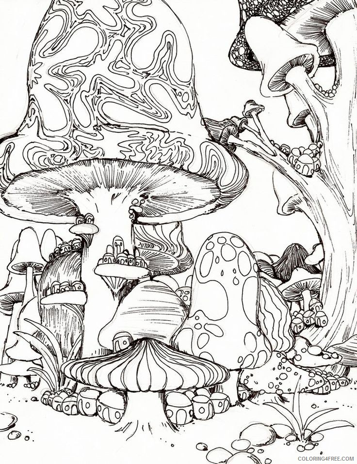 Coloring Pages Trippy To Educations. Coloring Pages Trippy - Adult ... | 958x736