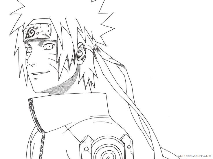 Free Printable Naruto Coloring Pages For Kids | 552x736