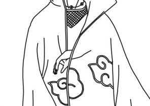 Akatsuki Naruto coloring page | Coloring pages | 210x296