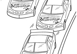 Nascar Coloring Pages Coloring4free Com