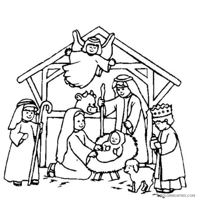 Manger Coloring Page ClipArt Best 204747 Coloring Page Of Baby ... | 647x640